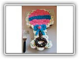 A baby rattle cake . . .