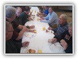 Men's Breakfast - The discussion today included elk hunting and steam engines