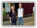 2017 UMW Scholarship Recipients - Kaitlin Butler and Kyle Steger